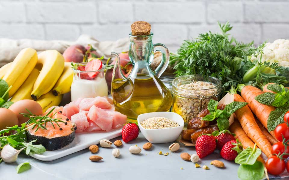 地中海食の素材